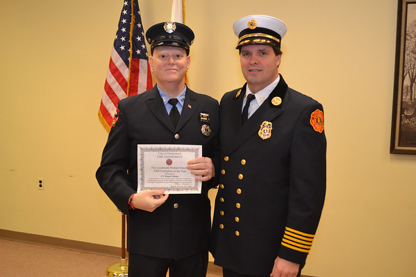 Fire Dept Awards Ceremonies