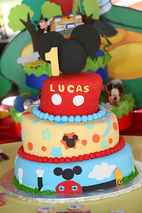 Luca's First Birthday Party - November 21, 2010