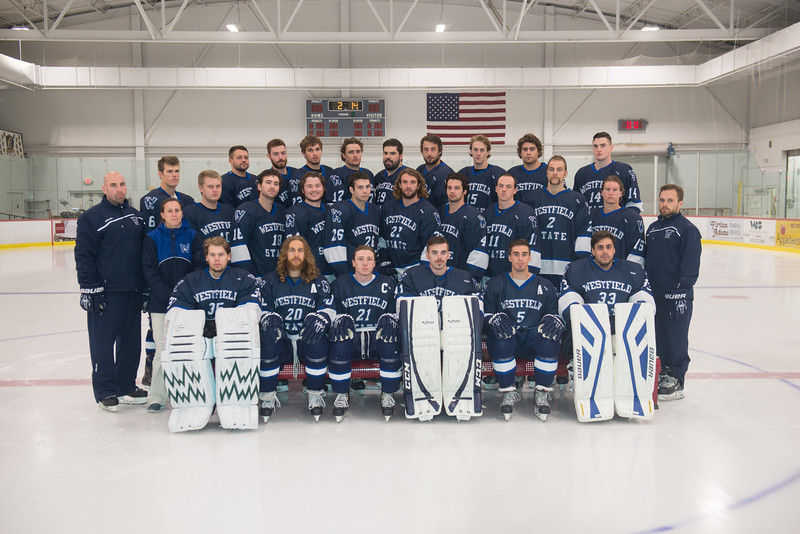 2014-15 Men's Ice Hockey Team photo