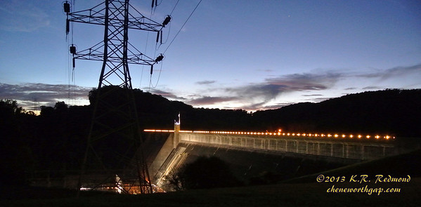 Norris Dam in Twilight
