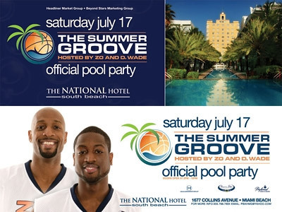 The Summer Groove Weekend: The Official Pool Party | Miami