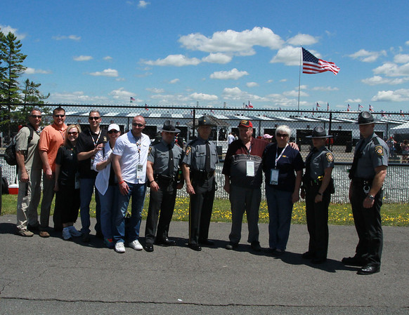 Pennsylvania State Police at the ARCA Race at Pocono