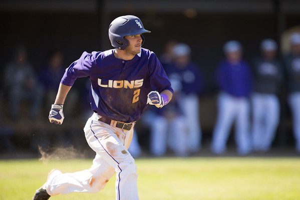 UNA Baseball vs Union 03/23/14