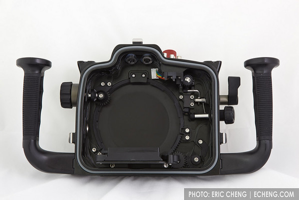 Nauticam Canon 7D Underwater Housing Prototype