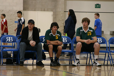 PHHS Varsity Male Volleyball Team 2012