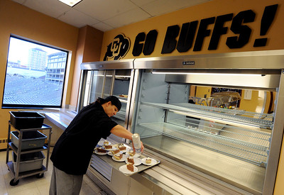 Cooking For the CU Buffaloes