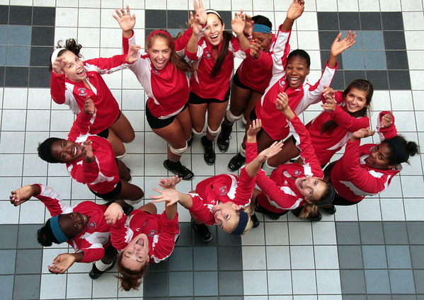 Dulles volleyball 2012