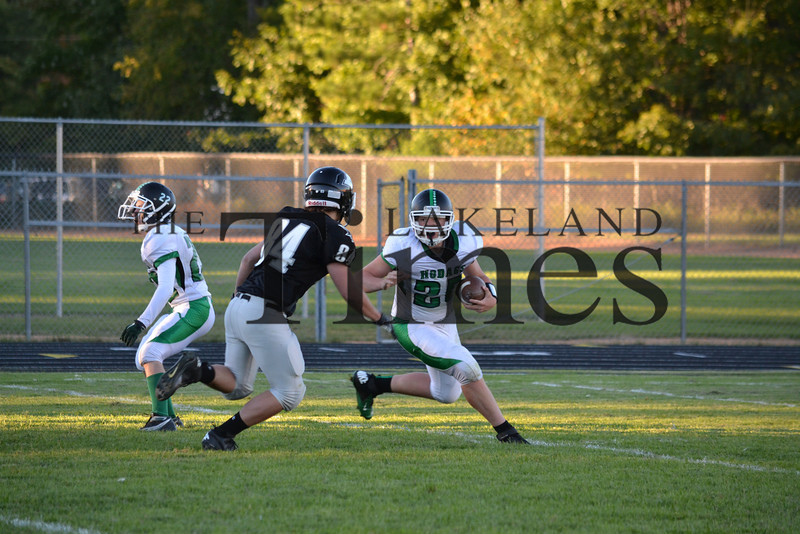 Lakeland JV Football vs. Rhinelander