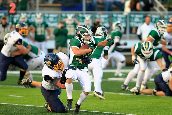 Football:TCW vs Cadillac, Sept. 21, 2012