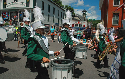 New Milford High School Marching Band