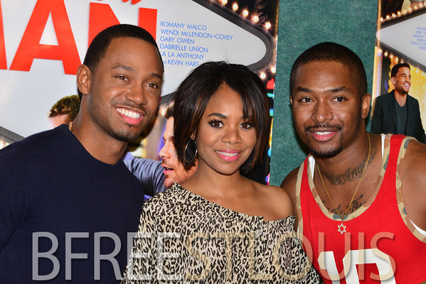 (06.02.2014) THINK LIKE A MAN TOO SCREENING WITH TERRENCE J AND REGINA HALL @ RONNIES CINEPLEX