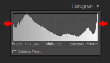 Histogram in Photography - HDR Histogram