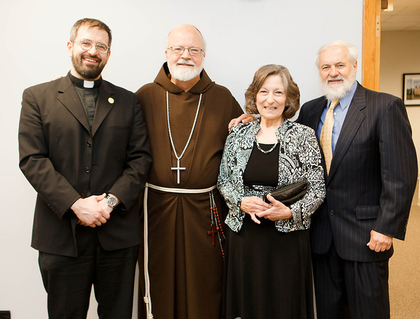 Luncheon for families of newly ordained