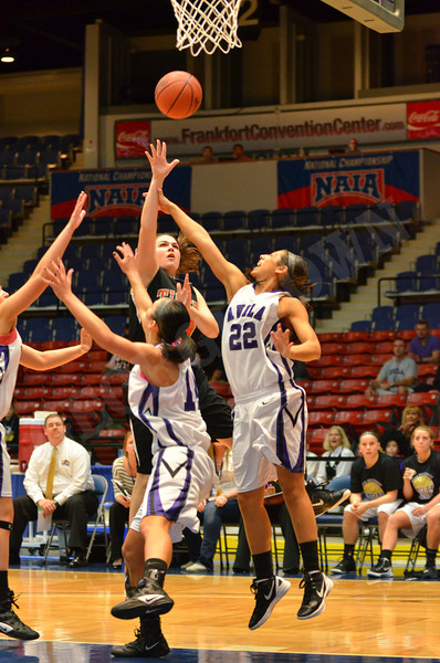 NAIA Tourn. WBB vs Avila 3-16-12