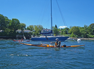 Piscatawqua River,  Kittery Point Maine, White Island Reef & New Castle, NH 5/6/2014