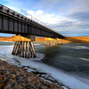 Bridge near Oahe Dam