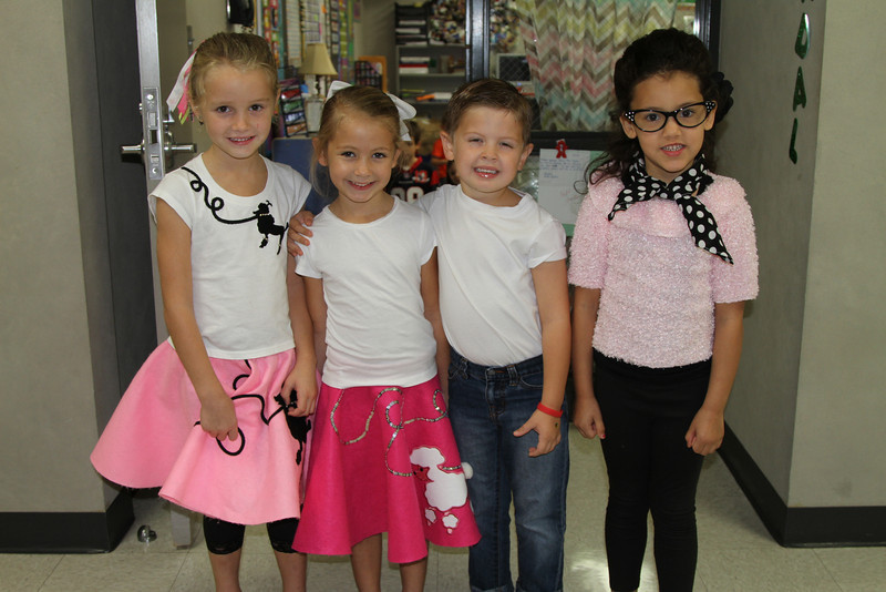 Kindergarten 50th Day Sock Hop