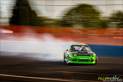Evergreen Drift Pro-Am Round 1 2012