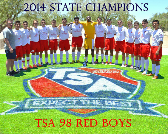 2014 TSA 98 BOYS RED POSTERS