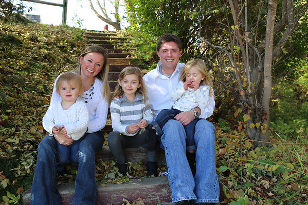 The Garrett's Family Fall Shoot