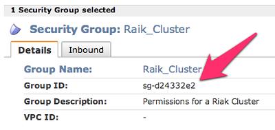 Installing Riak on AWS
