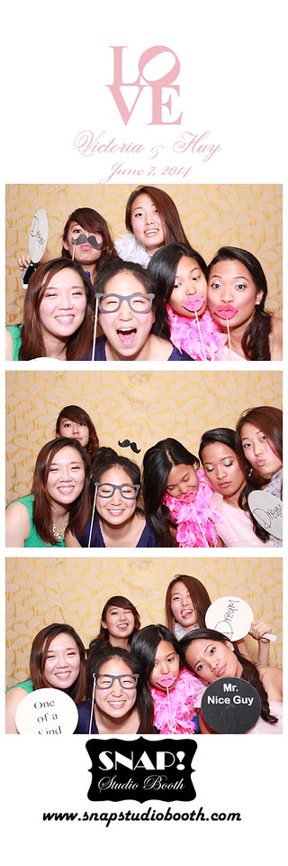 2014-06-07 Vicky & Huy's Wedding - PhotoStrips