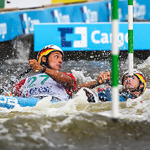 ICF Canoe Kayak Slalom World Cup Prague 2012