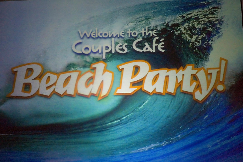 Couples Cafe - June 6, 2007