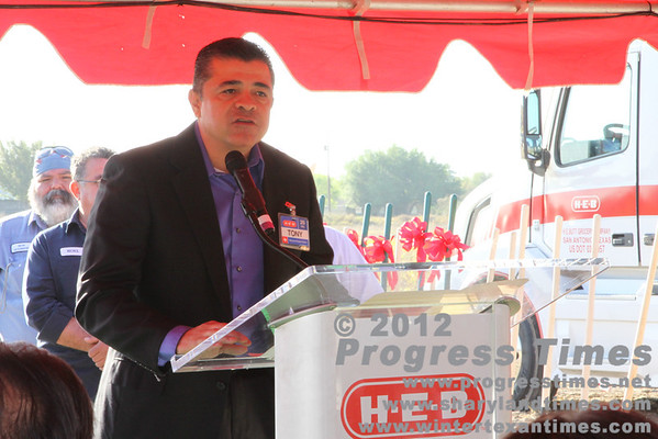 March 15, 2013 Palmhurst HEB Ground Breaking