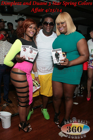 Dimplezz & Duane 3 star Colors Affair. 4/25/14