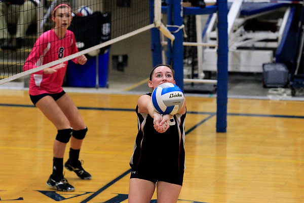 Volleyball: East Jordan vs. St. Francis. Oct 17, 2012