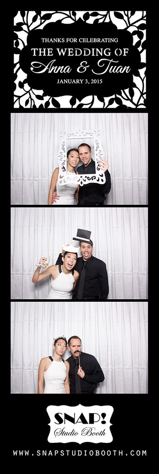 2015-01-03 Anna & Tuan's Wedding - Photobooth