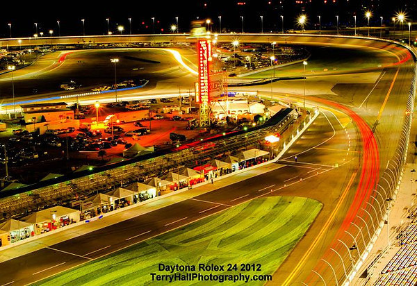 Daytona Rolex Night  shot