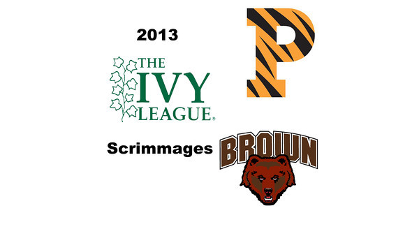 2013 Ivy League Scrimmage Videos
