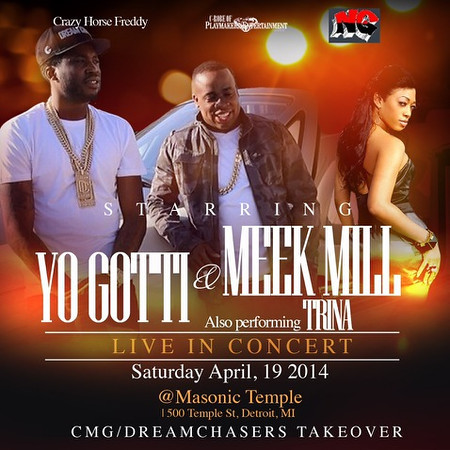 Yo Gotti Concert 4-19-14 Saturday