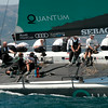 24.07.2011. Sailing Audi MedCup circuit stage from Cagliari, Italy. Region of Sardinia Trophy, class TP 52 series regatta. Quantum Racing of USA. Skipper: Ed Baird