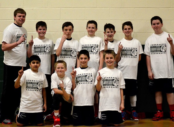 6th grade Paradise basketball  2014/2015 season