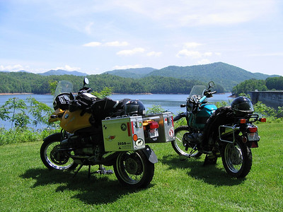 Great Smokey Mountians Motorcycle trip
