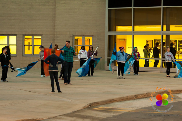 NCHS Evening Rehearsal 10/11/2012