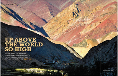The Markha Valley Trek : Outlook Traveller April 2014