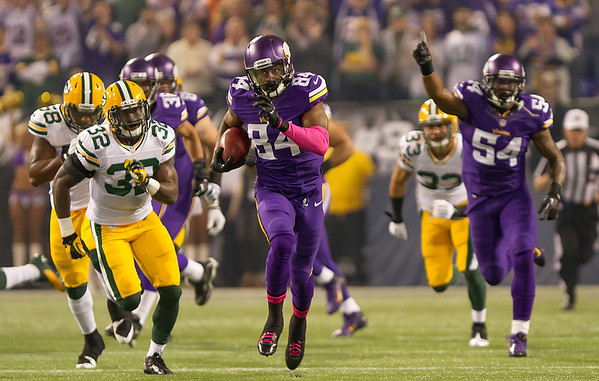 as the Minnesota Vikings fall 44-31 to the Green Bay Packers in the final rivalry game in the Metrodome.