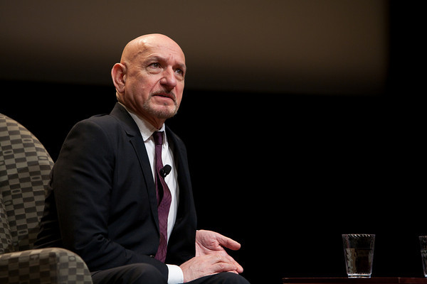Ben Kingsley at the Holocaust Museum 3/1/2011