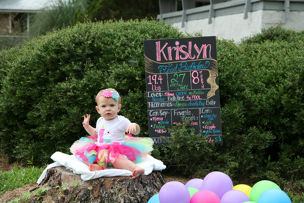 "Kristlyn""s first Birthday"
