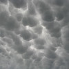 Mammatus clouds over Spearfish