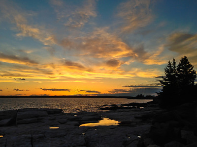 Ocean Point, East Boothbay, Maine