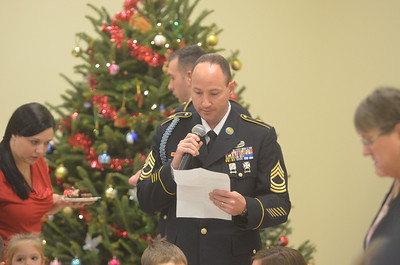 Christmas Gathering at Danville Armed Forces Reserve Center