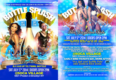 07/05/14 Bottle Splash
