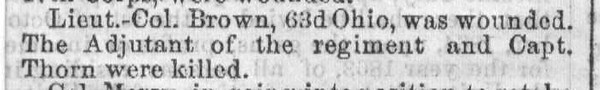 Cincinnati Gazette, July 29, 1864