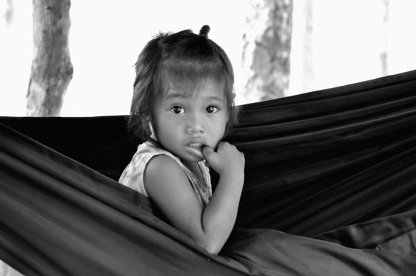Asie  portraits  Kids  Noir et blanc