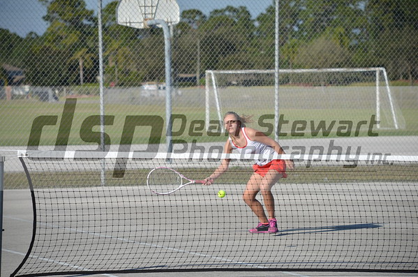 Palm Bay Girl's Tennis 02-10-15